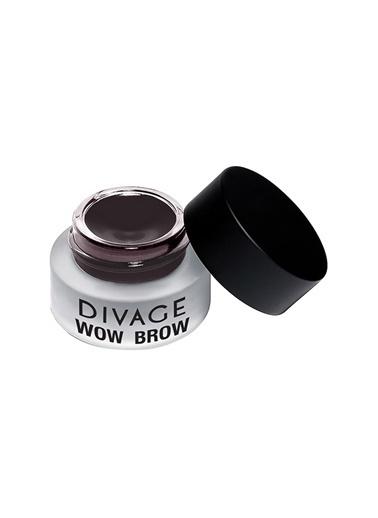 Divage Divage Wow Brow 02 Auburn Süper Pigmentli Jel Kaş Liner 4.5 Ml / 0.15 Fl Oz Bordo